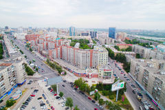Die Stadt von Sibirien Nowosibirsk Stockbild