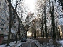 Die Stadt von St Petersburg Lizenzfreies Stockfoto