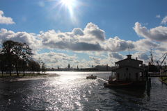 Die Stadt von St Petersburg Stockfotos