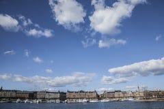 Die Stadt von Stockholm Lizenzfreies Stockfoto