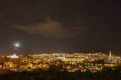 Die Stadt von Trondheim Lizenzfreies Stockfoto