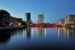 Die Stadtansicht in Tainan Stockbild