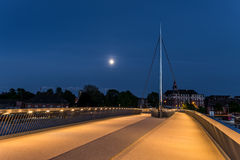 Die Stadtbrücke in Odense, Dänemark Lizenzfreies Stockbild