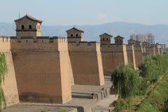Die Stadtmauer von Pingyao Stockfoto