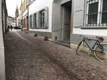 Die Stadtmitte von Basel Lizenzfreies Stockbild