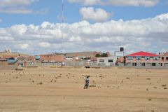 Die Stadtrände der Stadt von La Paz Lizenzfreie Stockfotografie