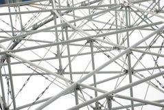 Die Stahlgefäßstruktur Stockbild