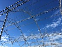 Die Stahlkonstruktion Stockbild