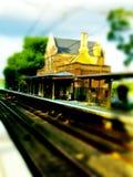 Die Station von altem Lizenzfreie Stockbilder