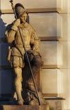 Die Statue des Offiziers stockfotografie