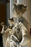 Die Statue einer Frau Stockbilder