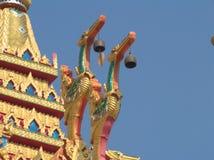 Die Statue im Tempel Lizenzfreie Stockfotos