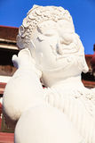 Die Statue Lanna-Art thailändischen Riesen in königlicher Flora Expo Stockbild