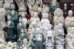 Die Statue von Buddha. Stockfotos