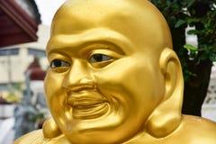Die Statue von Buddha in Temple of Dawn oder von Wat Arun Lizenzfreie Stockbilder