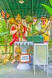 Die Statue von Hanuman Stockbilder