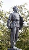 Die Statue von Lenin in Kasan-Universität, Russische Föderation Lizenzfreie Stockfotos