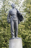 Die Statue von Lenin in Kasan-Universität, Russische Föderation Stockfotos