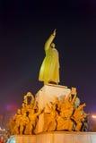 Die Statue von Mao Zedong Stockfoto