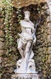 Die Statue von Neptun 1767 ursprüngliche Statue im Hof des Thun-Palastes, Sitz des Rathauses Lizenzfreie Stockbilder