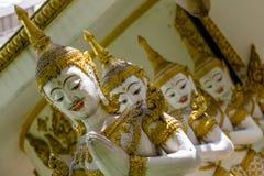 Die Statuen des Gottes Devata - Gottheit stockfotos