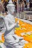 Die Statuen des Gottes Devata - Gottheit stockbilder