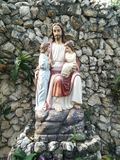 Die Statuen Jesus stockbild