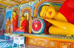 Die Statuen von Buddha Lizenzfreie Stockfotos