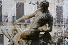 Die Statuen von Syrakus lizenzfreies stockfoto