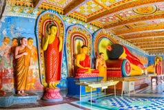 Die staues von Buddha Lizenzfreies Stockbild