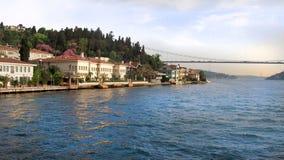 Die Steigungen des Bosphorus lizenzfreie stockfotografie