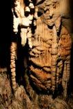 Die Steinbildung in Postojna-Höhlen, slowenisch Postojnska jama lizenzfreie stockfotografie