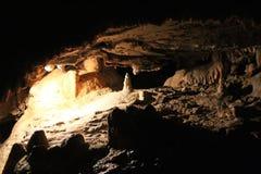 Die Steinbildung in Postojna-Höhlen, slowenisch Postojnska jama stockbild