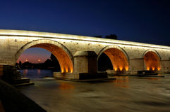 Die Steinbrücke Lizenzfreie Stockfotografie
