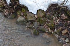 Die Steine sind kalt lizenzfreies stockbild