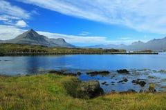 Die Steineier des fröhlichen Schachtes, Djupivogur, Island Lizenzfreies Stockfoto