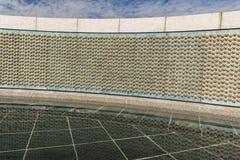 Die Sterne des WWII-Denkmals in Washington Stockbild