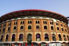 Die Stierkampfarena-Arenas. Barcelona Stockfoto