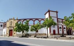 Die Stierkampfarena von Soria Spain Lizenzfreies Stockfoto