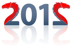 Die stilisiert Beschreibung 2012 Stockfotos