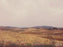 Die Stimmung der Landschaft Stockfoto