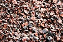 Die stoun Wand die Maurerarbeit von stoun Wand Lizenzfreies Stockbild