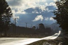 Die Straße Stockbild