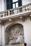 Die Straße der vier Brunnen in Rom Italien Stockfotografie