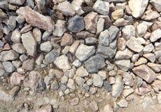 Die Stra?e des Granitsteins stockbild