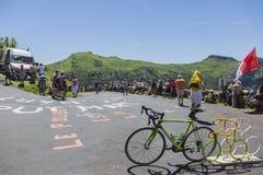 Die Straße des Tour de France - 2016 Stockfoto