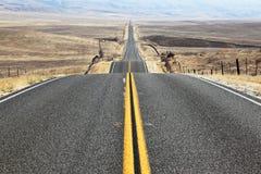 Die Straße geht der Abstand Lizenzfreies Stockbild