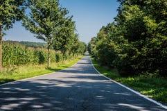 Die Straße nach Deutschland Stockbild