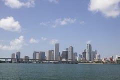 Die Straße nach Miami Stockbild