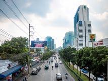 Die Straße Ratchada Stockbild